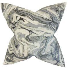 The Pillow Collection Ceylon Geometric Throw Pillow Color: