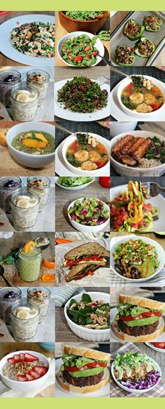 This One-Week Plant-Based Menu offers a collection of comforting easy to prepare gluten-free vegan recipes by guest blogger Anne from SimpleandSavory.com