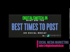 Best timings for post on facebook