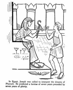 joseph coloring pages   ... coloring page about Joseph, while you tell the story of: Joseph