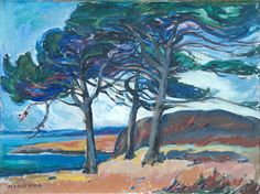 McCauley Point, 1924 by Emily Carr on Curiator, the world's biggest collaborative art collection. Tom Thomson, Canadian Painters, Canadian Artists, Needlepoint Patterns, Counted Cross Stitch Patterns, Emily Carr Paintings, Group Of Seven Paintings, Canada Landscape, Landscape Paintings