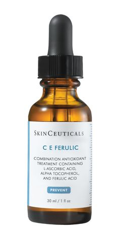 """SkinCeuticals CE Ferulic, $146; amazon.com """"This serum contains one of the most effective forms of vitamin C, so it brightens skin and fights wrinkles--plus it has vitamin E and ferulic acid to work in synergy with the vitamin C. And it provides an extra level of protection from the sun and pollutants."""" --Ranella Hirsch, M.D., assistant clinical professor of dermatology at Boston University School of Medicine"""