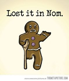 Lost it in Nom. ha!