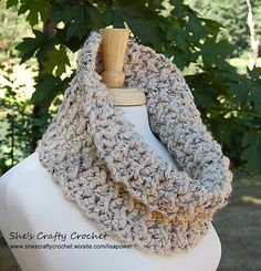 Chunky Cowl Pattern (Crochet) | Cowls, 9 Mm and Yarn Ball