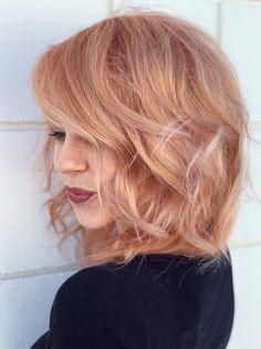 Natural Strawberry Blonde Hair, Strawberry Blonde Highlights, Blonde Hair With Highlights, Blonde Color, Strawberry Blonde Hairstyles, Stawberry Blonde, Chunky Highlights, Caramel Highlights, Color Highlights