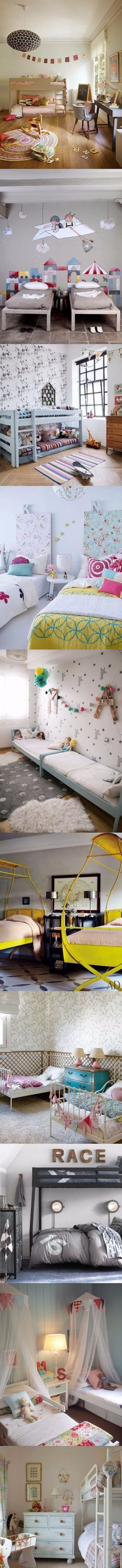 12 dormitorios infantiles para inspirarse / http://www.tendenciasydecoracion.com/