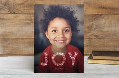 Glow and Glimmer Holiday Photo Cards by kelli hall | Minted