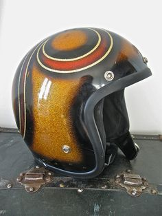 70'S METALFLAKE HELMET | Flickr - Photo Sharing!