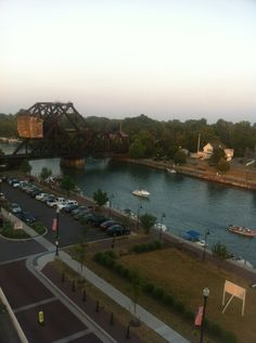 Erie Canal in Tonawanda/North Tonawanda, NY