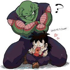 Piccolo, el niñero de Gohan. #DBZ