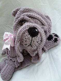 16th Dog Breed Blankie is the adorably wrinkly Shar Pei!