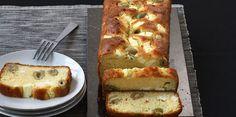 Cake aux olives et à la feta
