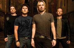Nickleback - Click image to find more Film, Music & Books Pinterest pins