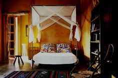 Ochre Effect - Wall Paint - Wall & Feature Wall Paint Colour Ideas (houseandgarden.co.uk)