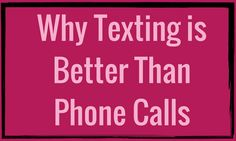 Why Texting is Better Than Phone Calls |  #RockstarDirectSales #DirectSales | Rockstar Direct Sales | For More Tips, Tricks, Tools & Training, GO TO >>  http://www.DirectSellersRock.com