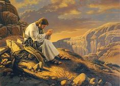 jesus praying in lonely places - Yahoo Image Search Results Jesus Art, God Jesus, Pictures Of Jesus Christ, Pictures Of God, Waiting On God, Christian Artwork, Prophetic Art, Biblical Art, Chef D Oeuvre