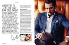 David Gandy for AugustMan Magazine Malasia June 2014 photo by: @mrchunkyexpress hair by: @Marcus Hallenberg Hallenberg Hallenberg Teo #DavidGandy #DavidJGandyEspaña