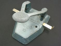 Industrial ACCO Swingline 2 Hole paper punch by Chaseyblue on Etsy