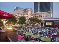 Watch Movies in Atlanta's own Central Park at Atlantic Station!