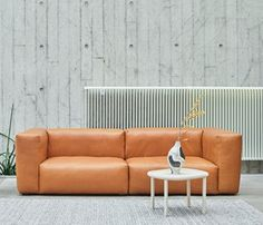 Mags Soft Sofa 2,5 seter Silk Leather