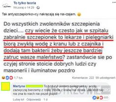 Antyszczepionkowcy – Wtf Funny, Funny Memes, Jokes, Best Memes, Best Quotes, Avatar Ang, Hahaha Hahaha, Everything And Nothing, Humor