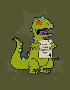 Reptar!!! from Rugrats!