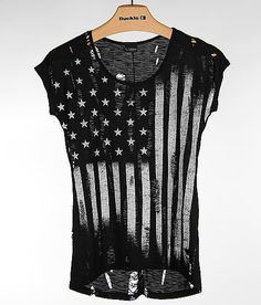 Daytrip Flag Top - Women's Shirts/Tops | Buckle would be super cute with short jean shorts