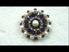 Tutorial: DIY Orecchini Samarcanda feat Superduo beads :-p ( beads tutorial) - YouTube