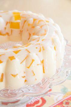 Creamsicle Jello mold recipe 600-1030