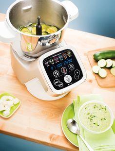 Robot de cocina Cuisine Companion. Corta, prepara y cocina hasta un millón de menús con Cuisine Companion.