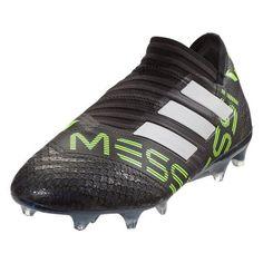 new style ccb4c 47f95 adidas Messi Nemeziz 360 Agility FG (BlackGreen). Scarpette Da CalcioConsigli  ...