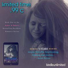 FIVE STAR READ  ONLY 99c! STORM by Carian Cole is only 99c or FREE with Kindle Unlimited!  Amazon US:http://amzn.to/2lgRNGj  Amazon Universal:http://ift.tt/2mLiWlU  Blurb:  The calm before the storm  I lived in the quiet stillness. I felt the wind rustle warning me telling me to get out of its path.  But I didnt.  I never stood a chance.  A series of weather and road mishaps leaves me trapped in the middle of a blizzard with a complete stranger. In the back of a pickup truck. For forty-eight…