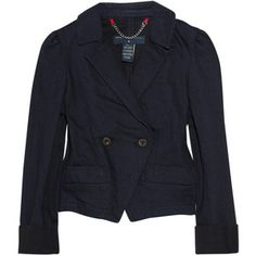 Marc Jacobs Double Breasted Tailored Denim Jacket from Outnet