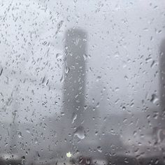 Westin, as seen from the Healey on a very rainy day. Photo by geminiaiio
