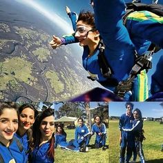 #MawraHocane experienced Sky Diving with her friends and brother in #Australia!  #followme #insta #instagram #instapic #instagood #instafollow #instalife #instalike #instalove #instafashion #instafame #instafamous #lifestyle #style #model #samysays #love #peace #glam #glamour #artist #fashion #fashionista #fashionblogger