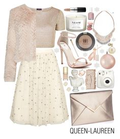 """HOLIDAY PARTY"" by queen-laureen ❤ liked on Polyvore featuring mode, Nakamol Design, Topshop, Alice + Olivia, Windsor Smith, Kendra Scott, NEOM Organics, Dolce&Gabbana, Surratt en MAC Cosmetics"