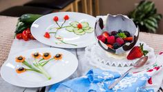 Add a bit of flare to any dish w/ @cristinacooks' Creative Garnishes! #homeandfamily