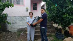 <p>Chihuahua, Chih.- Nuevamente la dirección de Desarrollo Humano a través de la dependencia de Vivienda Digna apoyan a 40 familias de la colonia