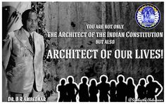 Ambedkar Jayanti 2015 Wishes Its day of celebrations, Its day to value a special person, Who taught world the lesson of Self Confidence Its B R Abmedkar. The Father of Indian Constitution ! B R Ambedkar, Indian Constitution, Special Person, Self Confidence, Self Help, Our Life, Celebrations, Father, Teaching