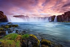 A Great deal of Long Exposure Photography tips collected specially for our 121 fans. Shooting long exposure in no more a haunting task for any landscape Beautiful Waterfalls, Beautiful Landscapes, Jaipur, Iceland Wallpaper, Hd Wallpaper, Wallpapers, Iceland Waterfalls, Les Cascades, Wonders Of The World