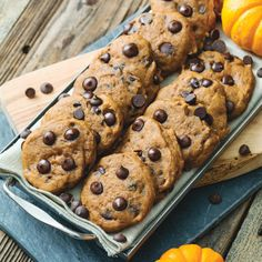 Pumpkin Chocolate Chip Cookies http://www.prevention.com/food/the-perfect-dessert-for-every-diet/pumpkin-chocolate-chip-cookies