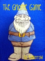dig into reading gnome - hidden around the library or around town for a drawing