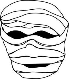 Careta Momia Halloween