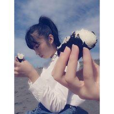 【shiro_no_iro】さんのInstagramをピンしています。 《#相川茉穂 #あいあい #ハロプロ #helloproject #アンジュルム #angerme #アイドル #おにぎり #海 #可愛い #大好き #応援》