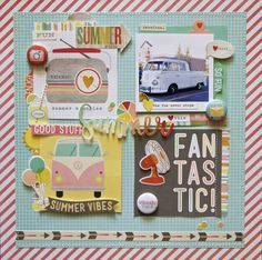 simple stories summer vibe layouts - Google Search