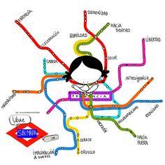 Vivir sin mapa… Eeeeegunon Mundo!! ¡¡¡Compártelo!!!
