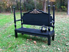 Completed Headboard Bench :: Hometalk