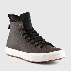 Converse - Men s Chuck II Waterproof Mesh Backed Leather Boots (Medium  Brown). Converse BootsConverse MenShoes ... bdfbe6cda0