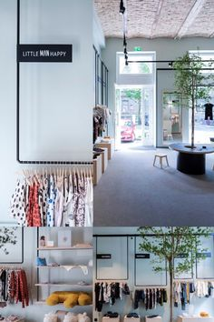"""The Ne.Ne.Ne. shop was designed for """"small people with great attitudes """", as the brand says for itself. This shop was designed in collaboration with a client who wanted light construction with minimal complications. Retail Concepts, Retail Space, Retail Design, Collaboration, Minimalism, Gallery Wall, Construction, People, Shopping"""