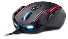Genuis has released its latest gaming mouse: Gila. If you're look for a professional gaming mouse for your favorite RTS or MMO, Gila may be able to meet your re Pc Gaming Setup, Gaming Pcs, Gaming Computer, Computer Mouse, Gaming Rooms, Pc Setup, Room Setup, Pc Gamer, Black Spiderman